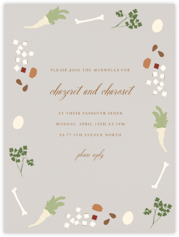 Seder - Paperless Post - Passover invitations