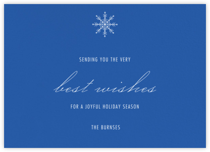 Lapis Lazuli - Paperless Post - Holiday Cards