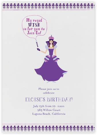 A Royal Day - Purple - Mr. Boddington's Studio -