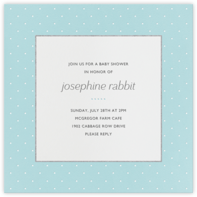 Airy Dots - Light Blue - Paperless Post - Celebration invitations