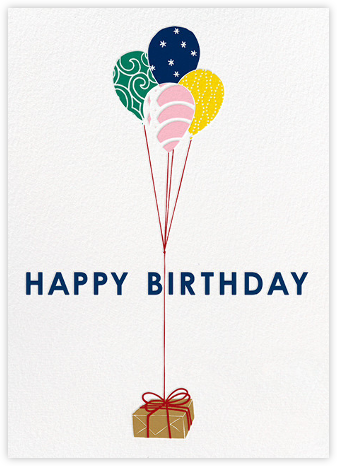 Parcel - Dark Blue - Paperless Post - Birthday cards