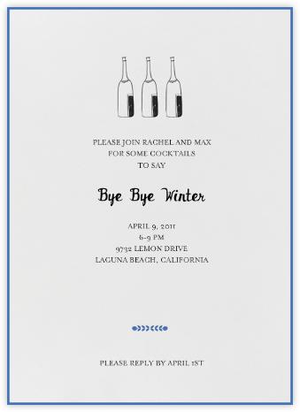 Bubbly for All (Royal) - Mr. Boddington's Studio - Get-together invitations