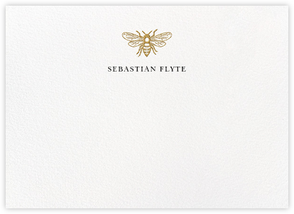 Bumble Bee - White - Paperless Post - Personalized Stationery