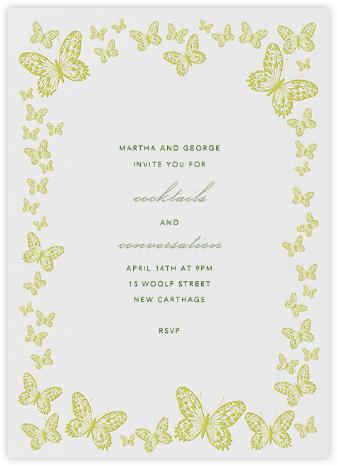 Butterfly Border - Green - Bernard Maisner