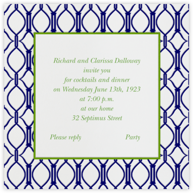 Cadogan Blue Square - Paperless Post - Business event invitations