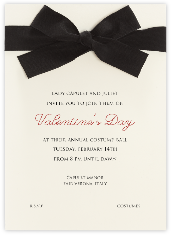 Cambon - Paperless Post - Valentine's Day invitations