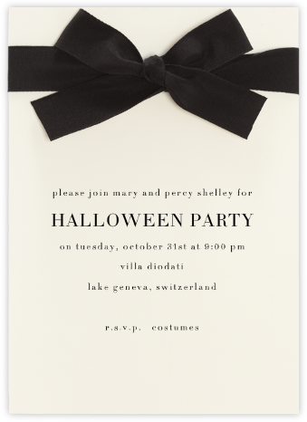 Cambon - Paperless Post - Halloween invitations