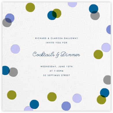 Carnaby - Blue - Paperless Post - Reception invitations