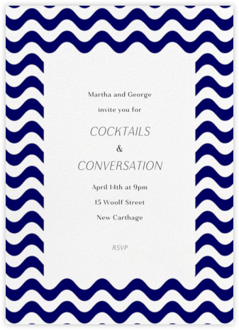 Crete Navy Vertical - Paperless Post - Business event invitations