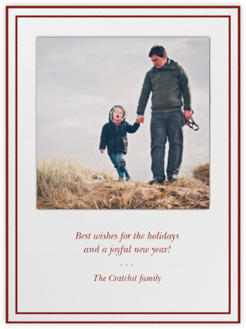 Holiday cards - online at Paperless Post