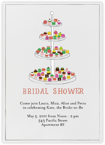 Everyone Loves Sweets - Bridal - Mr. Boddington's Studio - Bridal shower invitations