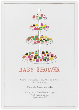Everyone Loves Sweets - Baby - Mr. Boddington's Studio - Celebration invitations