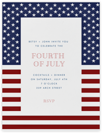 Fort Henry - Paperless Post - Summer entertaining invitations