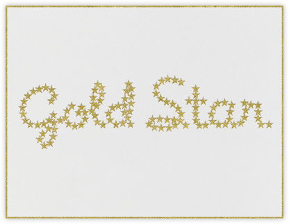 Gold Star - Paperless Post - Congratulations cards