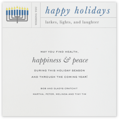 Hanukkah Telegram - Paperless Post - Hanukkah Cards