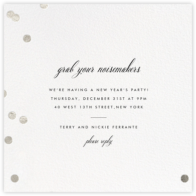 Holepunch - White - Paperless Post - New Year's Eve Invitations
