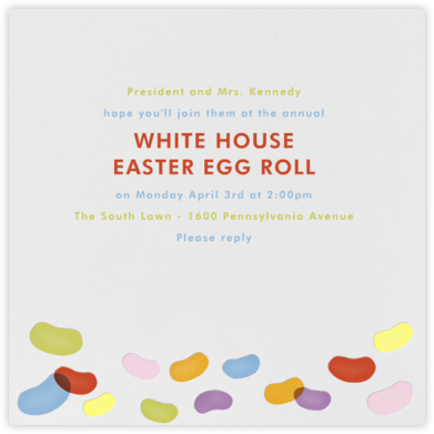 Jelly Beans - Paperless Post - Easter Invitations