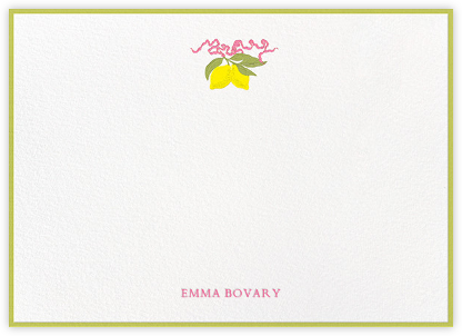 Lemons - Paperless Post - Stationery