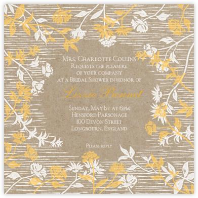 Wildflower - Mango and White - Paperless Post -