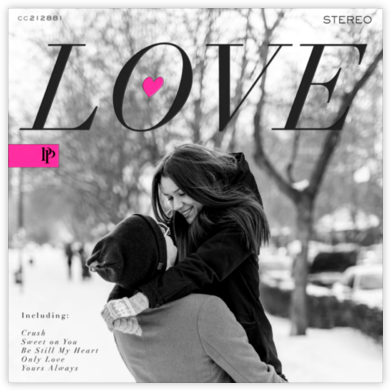 Love Album - Black - Paperless Post
