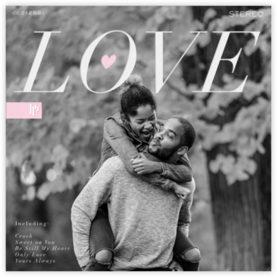 Love Album - White - Paperless Post -