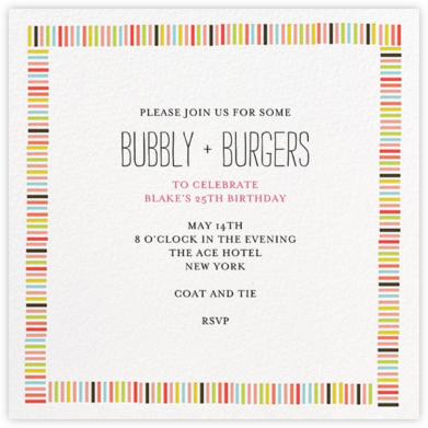 Mr Boddingtons Studio Online At Paperless Post - Birthday invitation in japanese