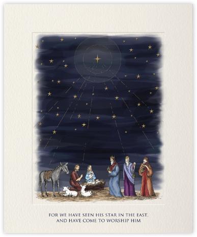 Nativity Scene - Paperless Post -