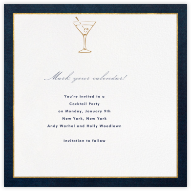 Oro (Blue) - Paperless Post -