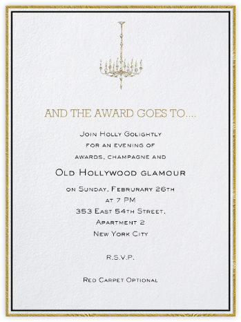 Pall Mall - Paperless Post - Viewing Party Invitations