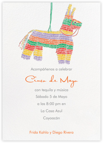 Pinata - Paperless Post - Cinco de Mayo Invitations