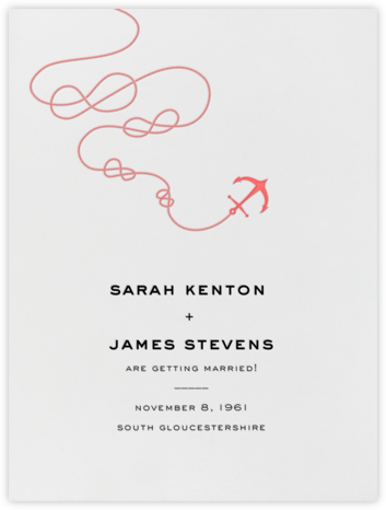 Port of Call - Ivory Coral - Paperless Post - Save the dates
