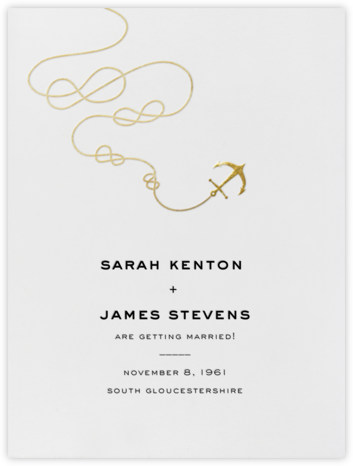 Port of Call - Ivory Gold - Paperless Post - Save the dates