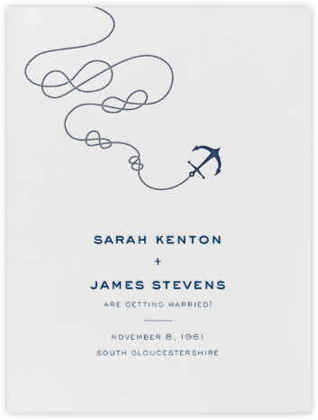 Port of Call - Ivory Navy - Paperless Post - Save the dates