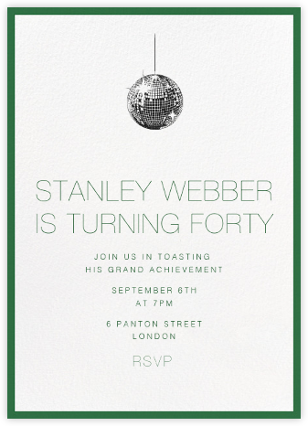 Theme party invitations online at paperless post contorno green stopboris Images
