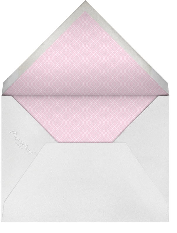 Dots and Dashes - Pistachio - Paperless Post - Envelope