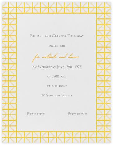 Rive Gauche - Yellow - Paperless Post -