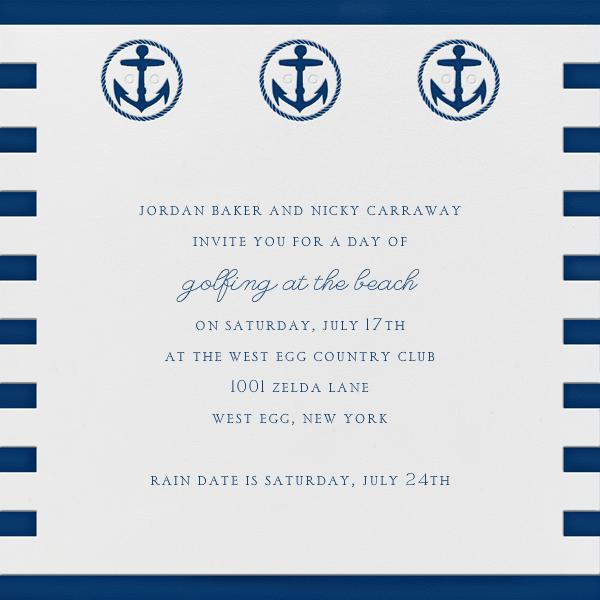 Sailor Sweater - Paperless Post - Summer entertaining invitations
