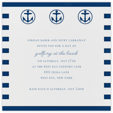 Sailor Sweater - Paperless Post - Summer Party Invitations