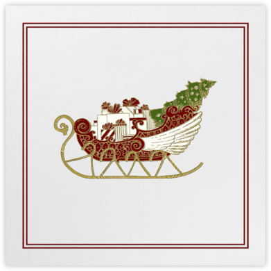 Sleigh - Paperless Post -