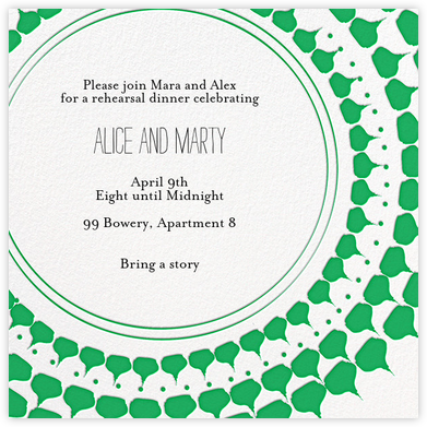 Spec in Capri - Great Scot - Mr. Boddington's Studio - Engagement party invitations