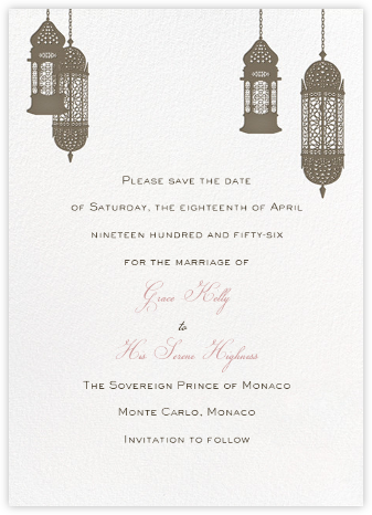 Tangiers - Clay - Paperless Post - Save the dates