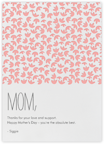 Tulips - Blossom - Linda and Harriett - Mother's day cards