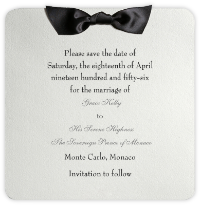 Tuxedo - Black - Paperless Post - Invitations