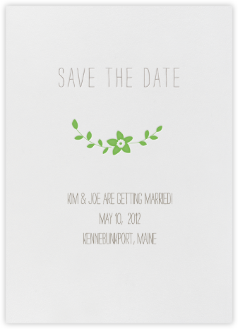 Vintage Flower Save the Date - Meadow | null