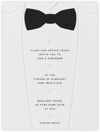 White Tuxedo - Paperless Post -