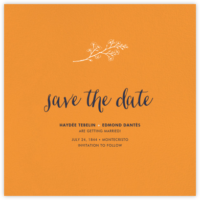 Tangelo (Save the Date) - Paperless Post - Invitations