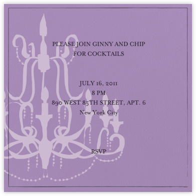 Oh Lovely Day - Wisteria - Mr. Boddington's Studio - Engagement party invitations