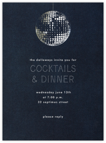Disco - Paperless Post - General Entertaining Invitations