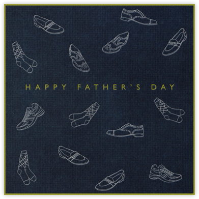 Loafers and Brogues (Midnight) - Paperless Post - Father's Day Cards