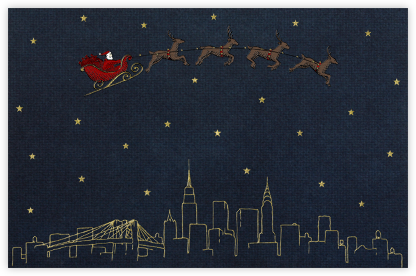 New York Christmas - Paperless Post - Christmas Cards